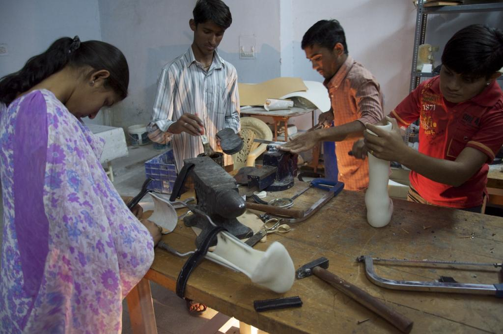 Apprenticeship in the Orthotic and Prosthetic Workshop - 1