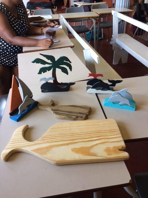 Bequia Island - Handicrafts made by the children of Sunshine School