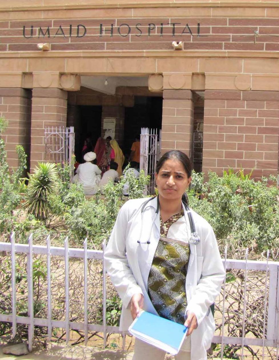 University Education Fund - Anuradha, PACINC's first medical school graduate outside her hospital.