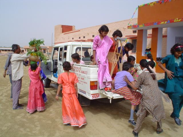 opening ceremony of the girls hostel